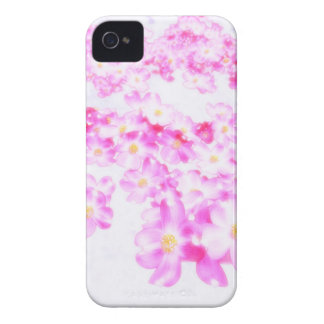 Pink Dogwood Blossom iPhone 4 Case