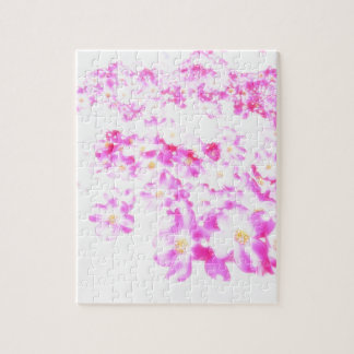 Pink Dogwood Blossom Jigsaw Puzzle