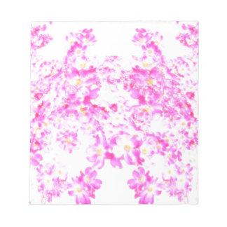 Pink Dogwood Blossom Notepads