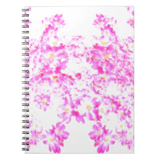 Pink Dogwood Blossom Spiral Notebook