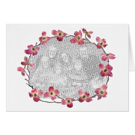 Pink Dogwood Flowers Card