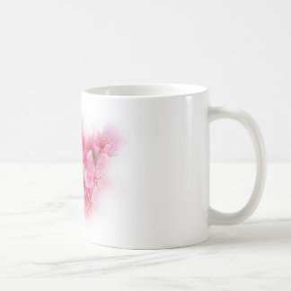 pink dogwood flowers coffee mug