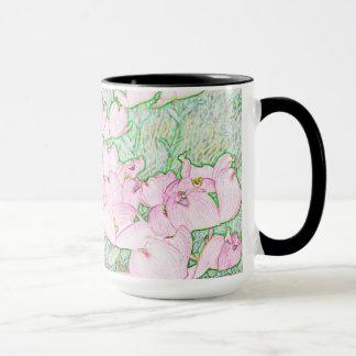 Pink Dogwood Mug