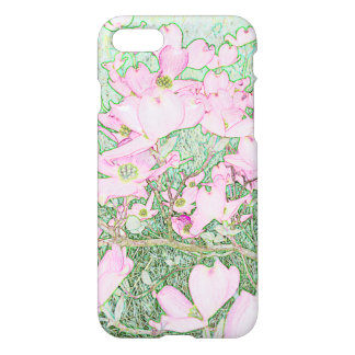 Pink Dogwood Phone Case