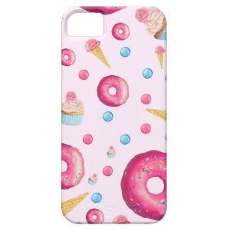 Pink Donut Collage iPhone 5 Covers