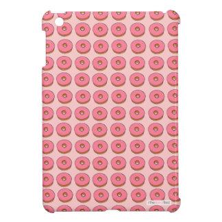 Pink donut design ipad case