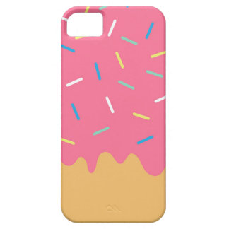Pink Donut iPhone 5 Cover