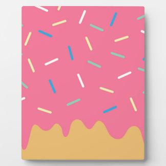 Pink Donut Plaque