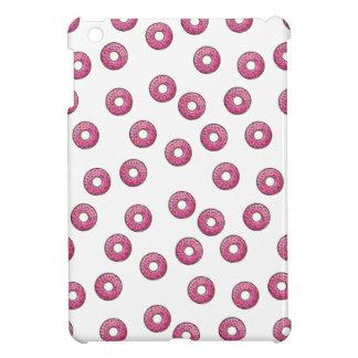 Pink Donut Polka Dot Pattern - Bakery iPad Mini Cases