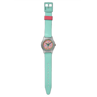 Pink donut watch