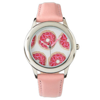 Pink Donuts Kids Watch