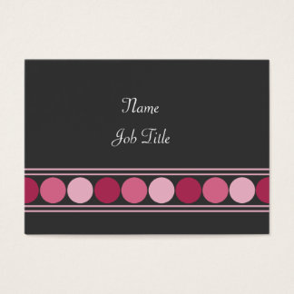 Pink Dots Business Card