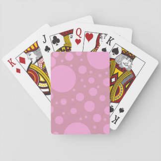 Pink Dots Classic Playing Cards