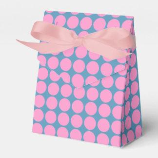 Pink Dots Favor Boxes