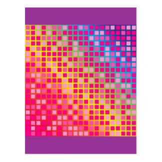 Pink Dots Postcard