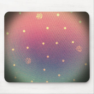 Pink Dotted Swiss Mouse Pad
