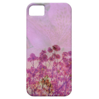 Pink Double Exposure Case For The iPhone 5