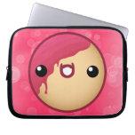 Pink Doughnut Laptop Case