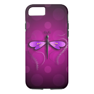 Pink Dragon Fly Polka Dots! iPhone 8/7 Case