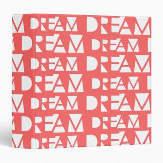 Pink Dream Geometric Cutout Print Binders