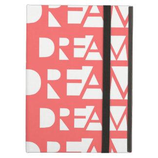 Pink Dream Geometric Cutout Print iPad Air Cover