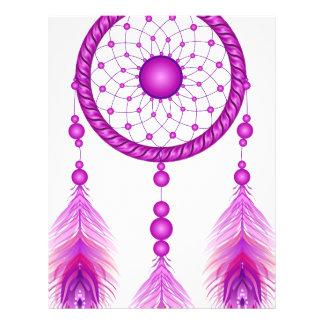 Pink Dreamcatcher Letterhead