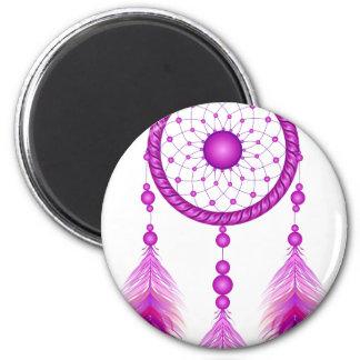 Pink Dreamcatcher Magnet