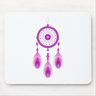 Pink Dreamcatcher Mouse Pad