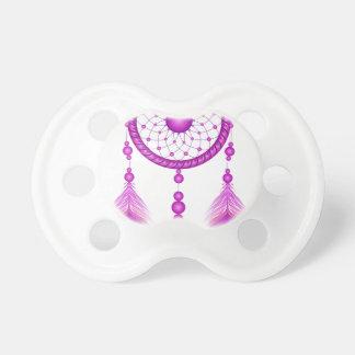 Pink Dreamcatcher Pacifier