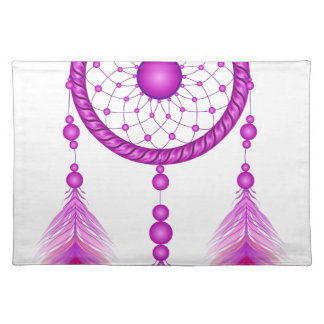 Pink Dreamcatcher Placemat