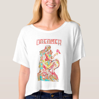 Pink Dreamer ~Vintage Mermaid Re-Designed by Aleta T-shirt
