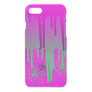 Pink Drippin' Paint iPhone 8/7 Case