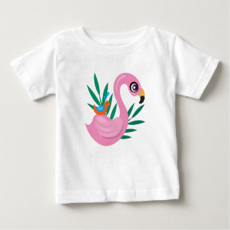 Pink Duckling Baby T-Shirt