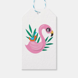 Pink Duckling Gift Tags