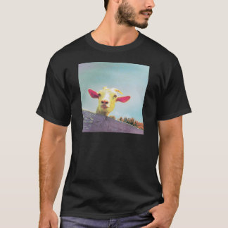 Pink-eared goat T-Shirt