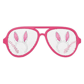 Pink Easter Bunny Rabbit Ear Ears Party Shades