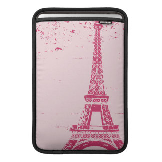 Pink Eiffel Tower Custom MacBook Air Sleeve