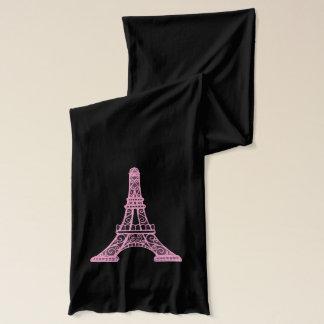 Pink Eiffel Tower Scarf