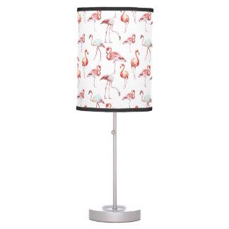 Pink Elegant Flamingo pattern Desk Lamps