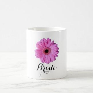 Pink Elegant Gerbera Daisy Coffee Mug