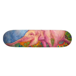 pink elepahnt girls skateboard