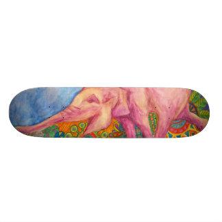 pink elepahnt girls skateboard
