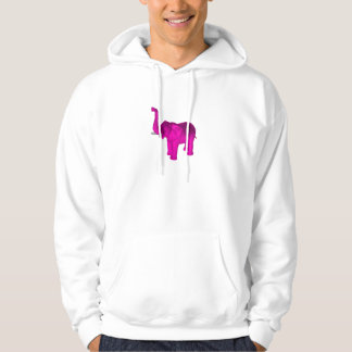 Pink Elephant Hoodie