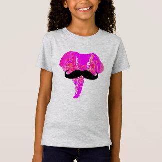 PINK ELEPHANT MUSTACHE T-Shirt