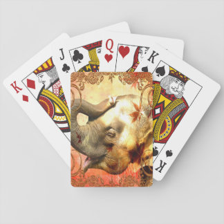 Pink Elephant Standard Playing Cards