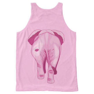 Pink Elephant SWAK All-Over-Print Tank Top