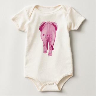 Pink Elephant SWAK Baby Bodysuit