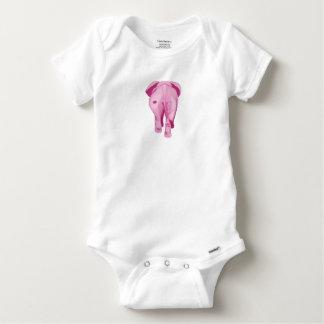 Pink Elephant SWAK Baby Onesie
