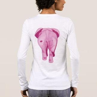 Pink Elephant SWAK Long Sleeve T-Shirt