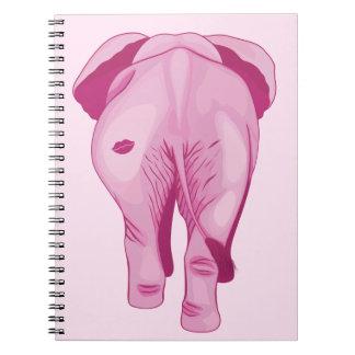 Pink Elephant SWAK Notebook